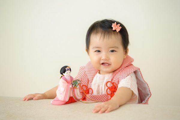 赤ちゃんのお顔のお人形