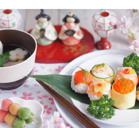 雛祭りの食べ物で悩んだらチェック!桃の節句における代表的な行事食と作り方